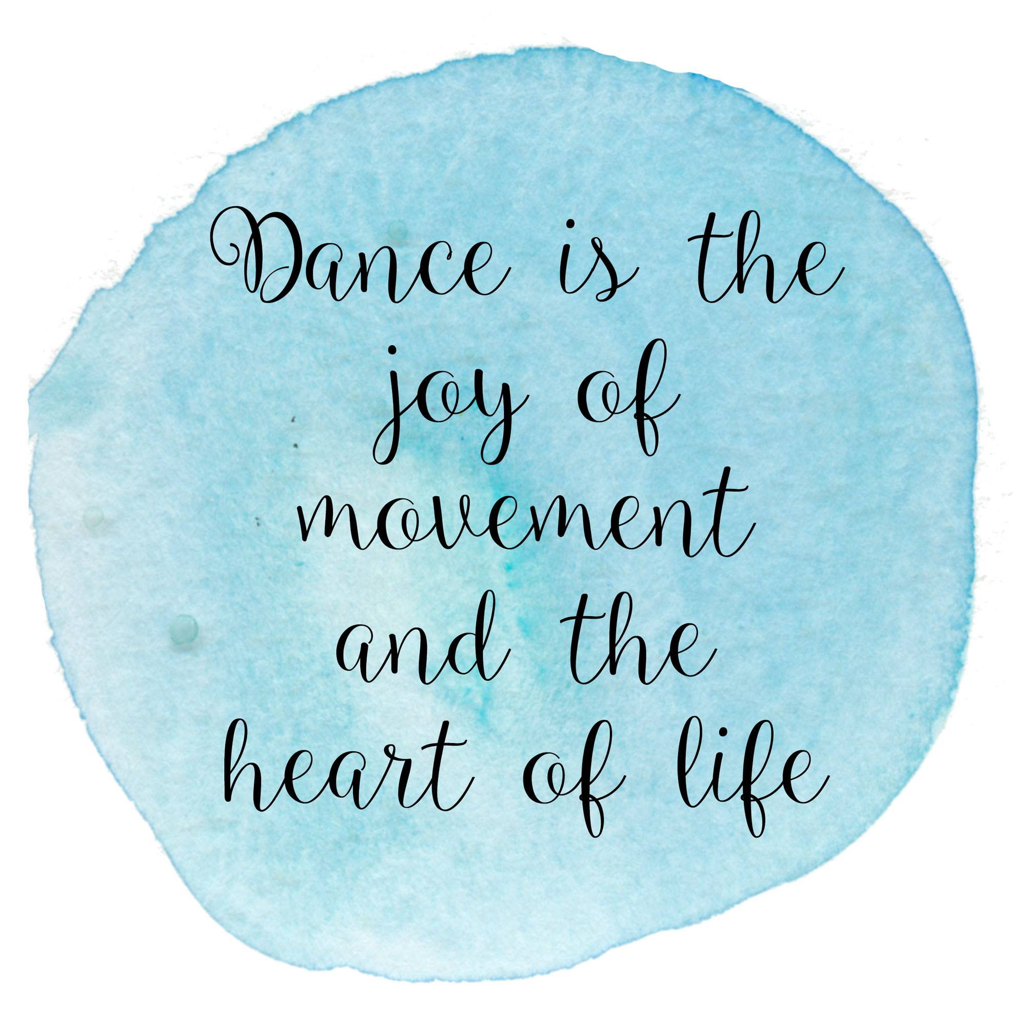 Inspirational Dance Quotes Enchanting 12 Inspirational Dance Quotes  The Radio City Rockettes