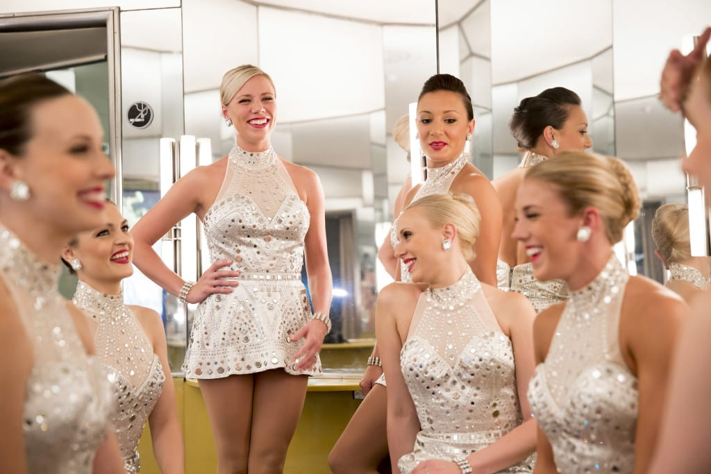 August 22, 2013: The Radio City Rockettes at Radio City Music Hall.