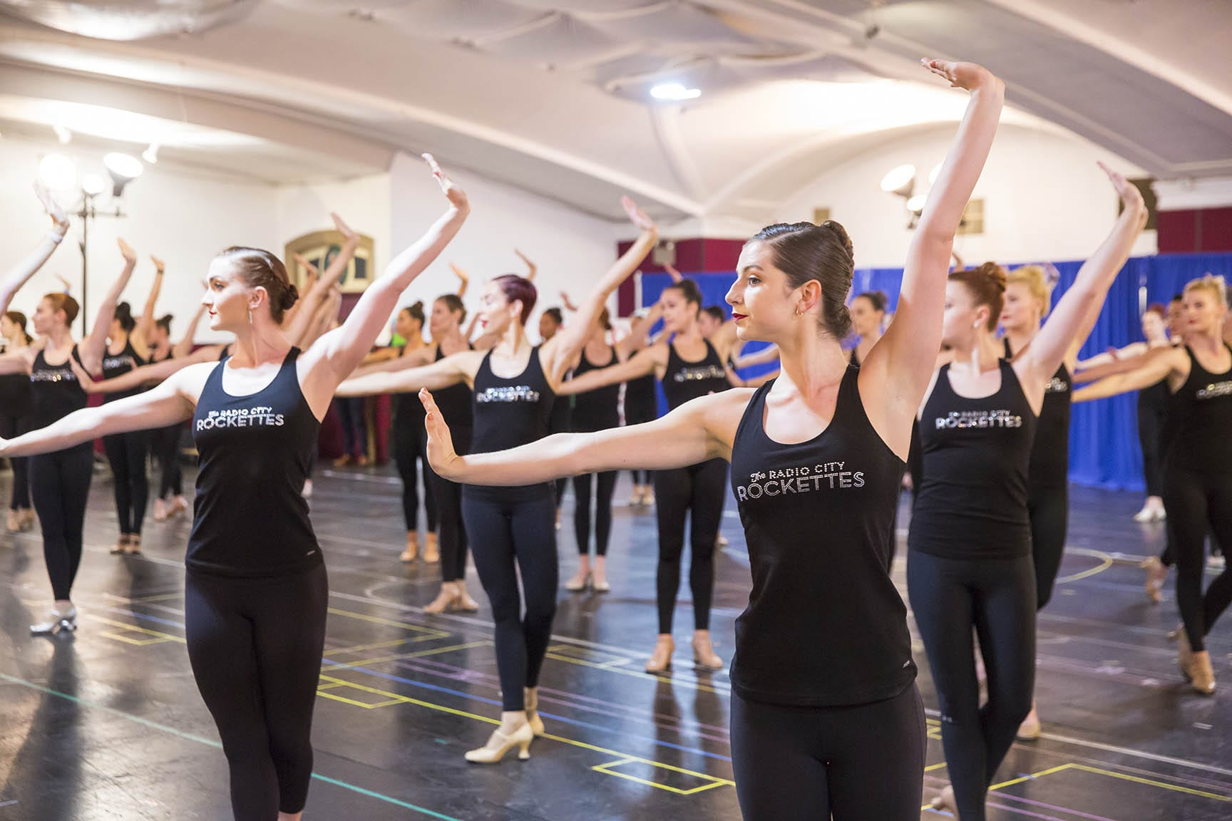 Christmas Spectacular Rockettes Open Rehearsal