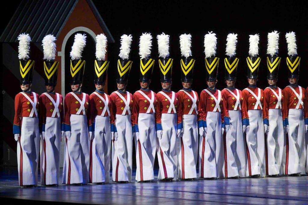Christmas Spectacular rehearsal