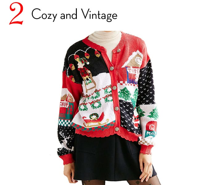 cozy vintage christmas sweater article - Vintage Christmas Sweater