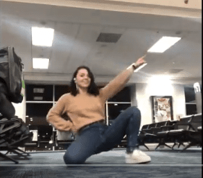 Rockettes' Pick for Dancer of the Week: Law Student Stuck in Atlanta Airport Dances the Time Away