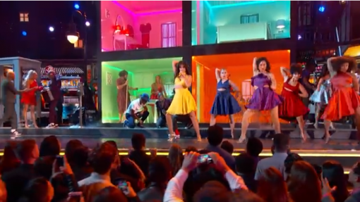 Dancer of the Week: Camila Cabello Shows Off Her Salsa Moves in Stunning Grammy Performance