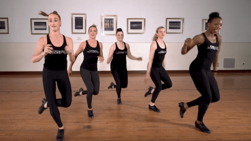 Celebrating National Tap Dance Day: Rockettes Perform A One-Take Tap Combination!