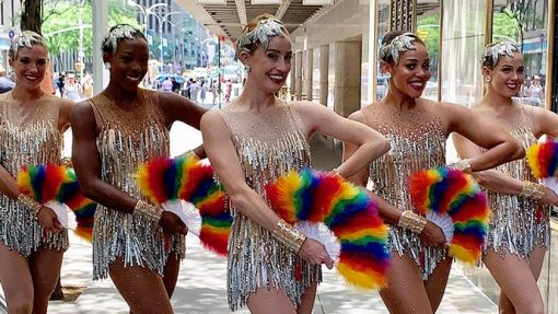 The Rockettes Are Kicking Off Pride Month at Radio City!