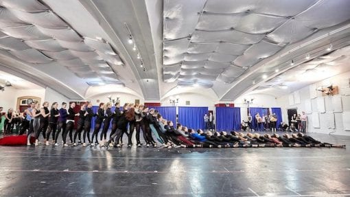 2018 Christmas Spectacular Rehearsals