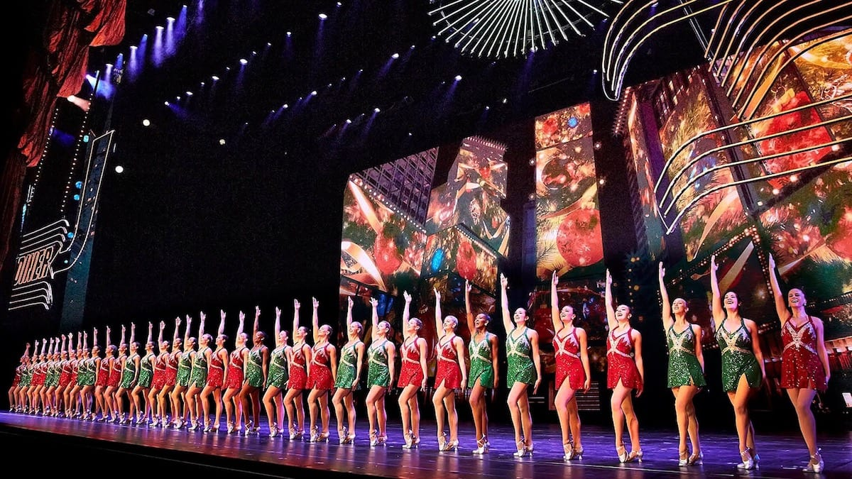 Rockettes Christmas Show.Experiences The Rockettes