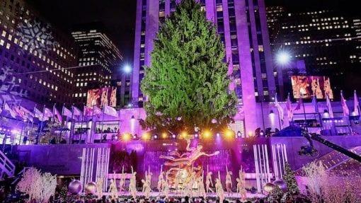 2018 Rockefeller Center Tree Lighting