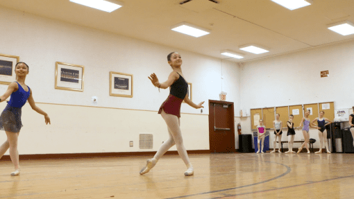 VIDEO: Young Dancer Auditions For The Role of 'Clara' In The Christmas Spectacular!