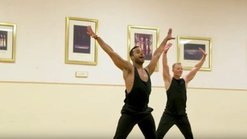 VIDEO: Dancer Auditions For Ensemble Role In Our Christmas Spectacular