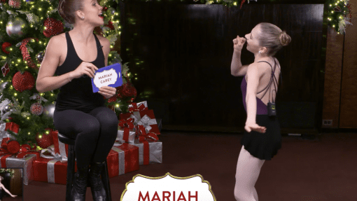 """Rockettes Christmas Games: """"Guess It"""" With The Claras"""