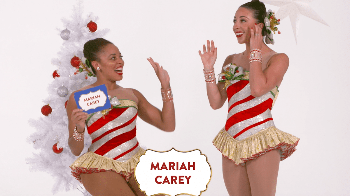 "Rockettes Christmas Games: ""Guess it: Iconic Christmas Characters"""