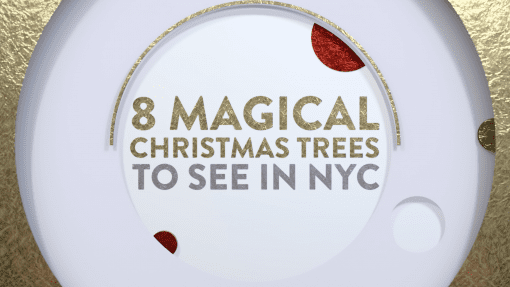 8 Magical Christmas Trees To See In New York City