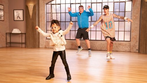 "Dancer of the Week: Justin Bieber Joins James Corden for a ""Toddlerography"" Dance Class"