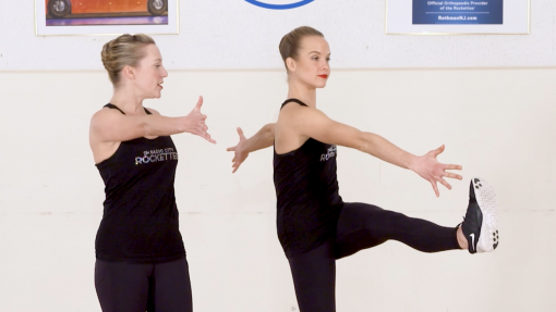 Rockettes Strength & Conditioning: Eye High Kicks
