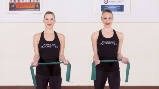 Rockettes Strength and Conditioning: Wooden Soldier Planks