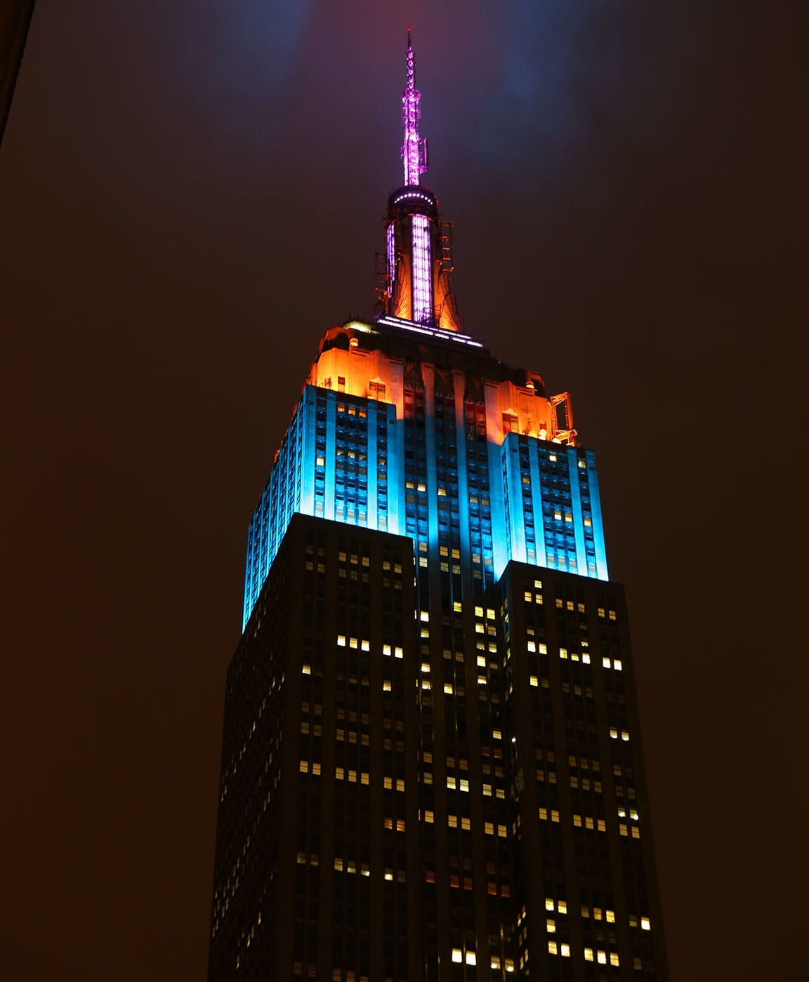 NYSS Opening Night & The Empire State Building Is Lighting Up For The New York Spring ...