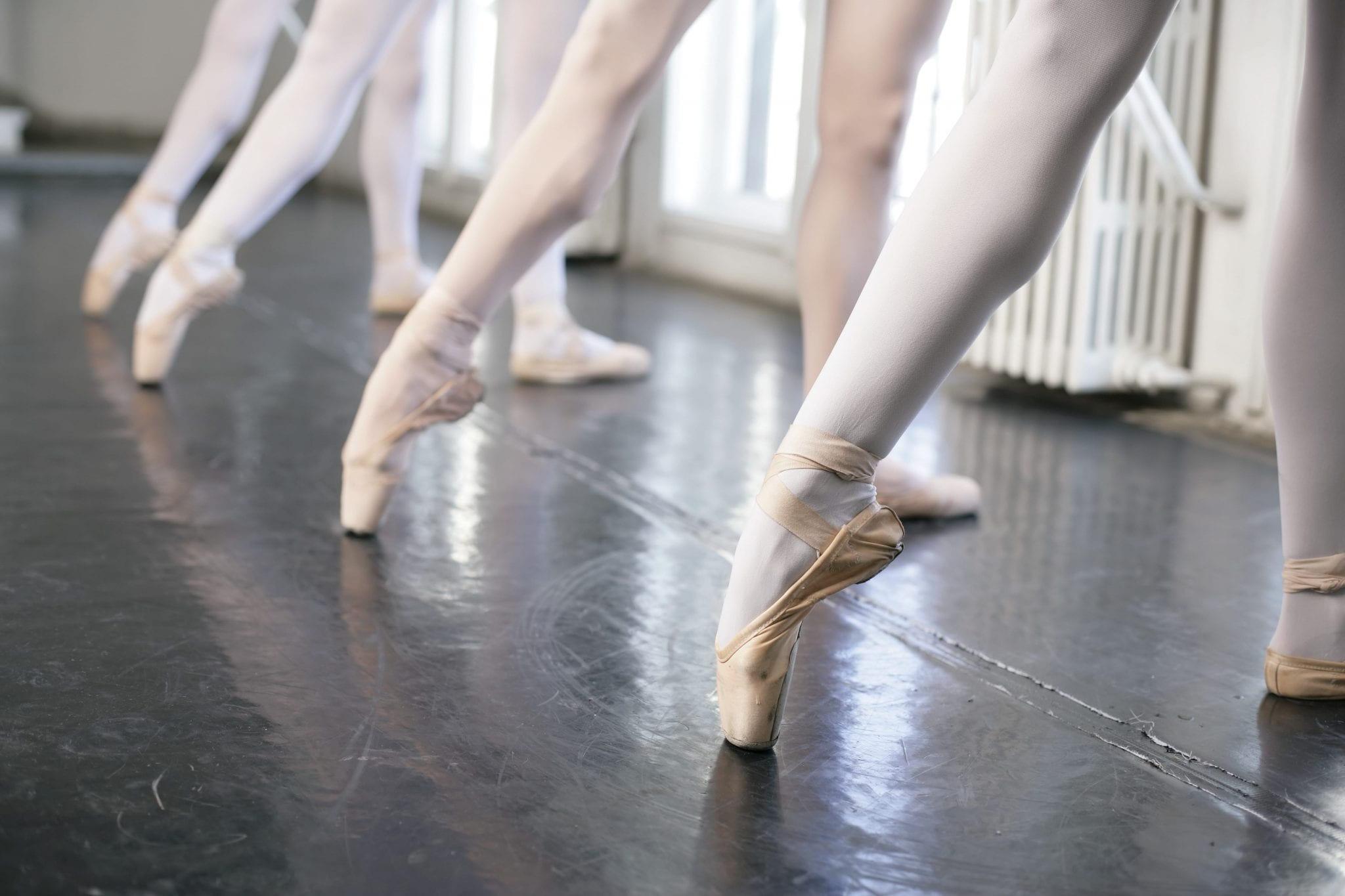 57936830dd74b Ballet 101: How to Do a Tendu. Photo Credit: STOCK4B | Getty Images